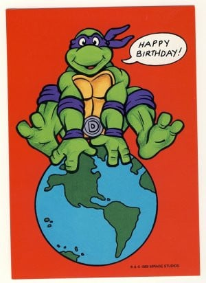 Happy Birthday Ninja Turtles