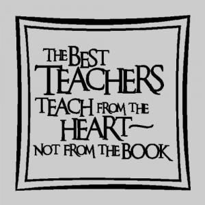 The best teachers teachTeacher Wall Quotes Words