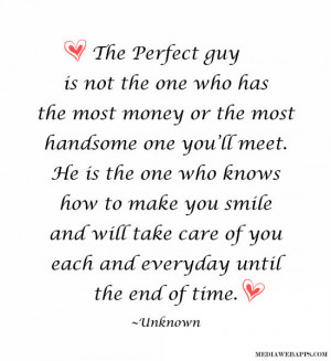 handsome one you'll meet. He is the one who knows how to make you ...