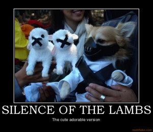 SILENCE OF THE LAMBS - The cute adorable version