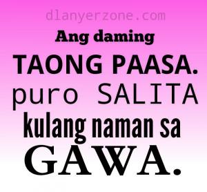Family Quotes Tagalog Bob Ong