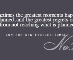 sometimes the greatest moments happen unplanned,... - lumière des ...
