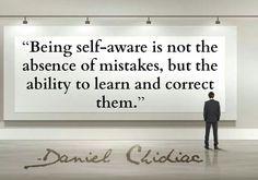 Self Awareness... More