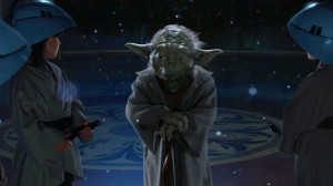 """Truly wonderful, the mind of a child is."""" Attack of the Clones"""