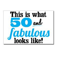 Fifty And Fabulous Postcards