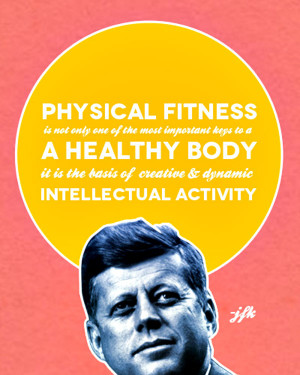 physical fitness and being healthy Article provides details on what physical fitness is, what it means to be fit,   according to the united states department of health and human.