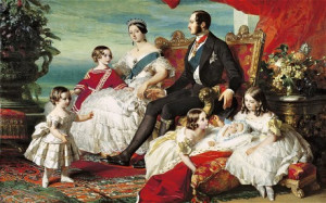 Queen Victoria, Prince Albert and their children in 1846 (Photo: BBC)