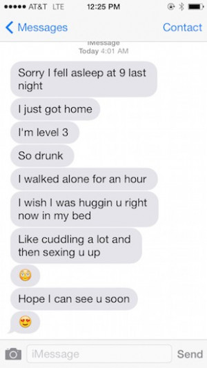 Drunk Girl's Guide to Late Night Texting (Based on Lots of Personal ...
