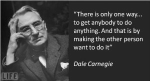 Dale Carnegie quotes I like