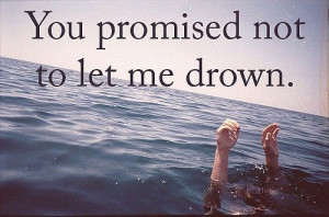 Sad Quote about false promises and saving me, images, pictures ...