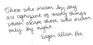 Edgar allan poe quotes and sayings witty dream famous