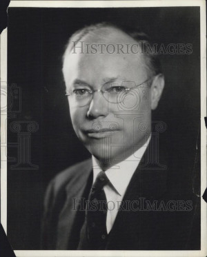Press Photo Robert Taft Senator Son of President Taft Presidential Run