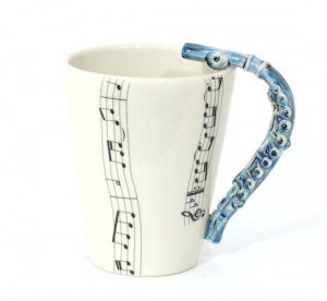 Cute Flute Quotes Cute flute mug!