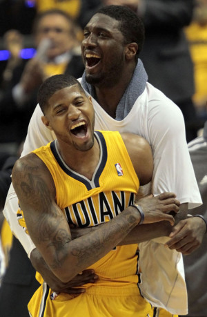 Paul George, Roy Hibbert