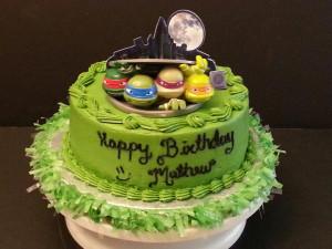 Ninja Turtle Birthday Party Cakes