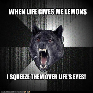 advice animals memes - Animal Memes: Insanity Wolf: Make Life Rue the ...
