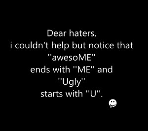 Dear haters humor best sayings quote loving HD Wallpaper