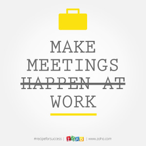 Famous Quotes About Business Meetings ~ Darice | Zoho Blogs