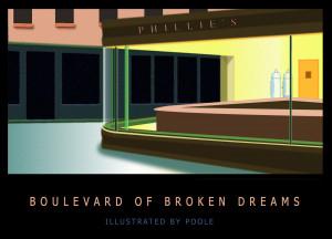 Boulevard Of Broken Dreams Painting