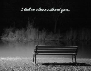 Depressed Quotes Sad Alone Wallpapers