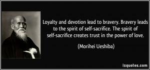 military quotes on sacrifice