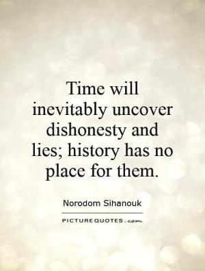 Dishonesty Quotes