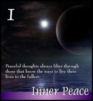 Attaining Inner Peace in Daily Living... ...