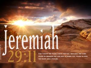 Jeremiah 29:11 HD Wallpaper