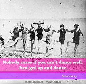 We should consider every day lost on which we have not danced at least ...