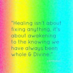 Healing and Thoughtful quotes