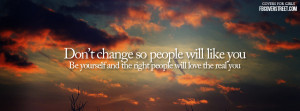Don't Change Facebook Cover
