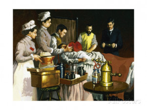 Morton Green William Thomas Used Ether as an Anesthetic Giclee Print