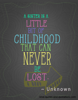 love you sister quotes and poems