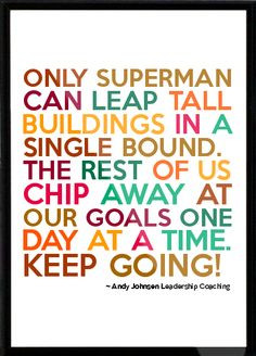 Andy Johnsen Leadership Coaching Framed Quote More