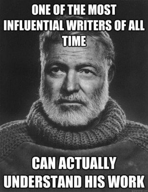 Good Guy Earnest Hemingway