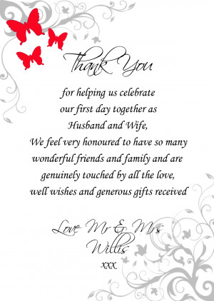 Thank You Poems (5)