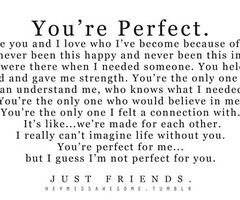 Just Friends Quotes Tumblr Just friends quotes tumblr