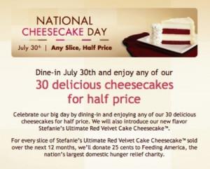 Cheesecake Day! Bake a cheesecake yourself, make adorable cheesecake ...