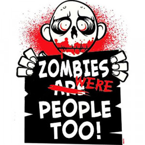 zombies were people too t shirt $ 18 99 awwww this cute little zombie ...
