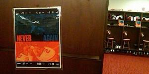 proposed poster for Auburn's locker room, based upon Pat Dye's famous ...