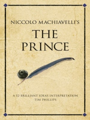 ... this cover for a(n) ebook sample of niccolo machiavelli's the prince