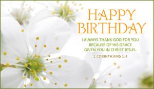 Happy Birthday Bible Quotes