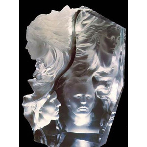 Appassionata by Frederick Hart acrylic sculpture