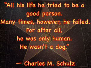 CharlesSchulz on humans to #Dogs. #DrRandyPetVet