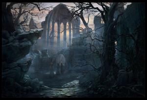 Paisajes goticos tristes