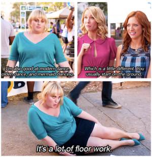 Fat Amy', want ja, zo noemt ze zichzelf, is echt een heel ...