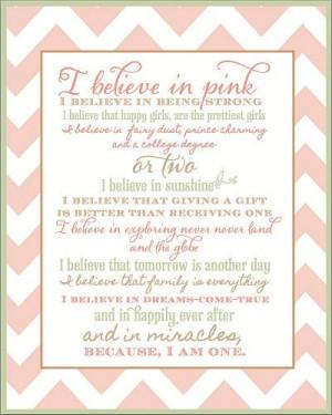 , Anna Pink, Girls Quotes, Girls Room, Izzy Design, Baby Girls, Girls ...