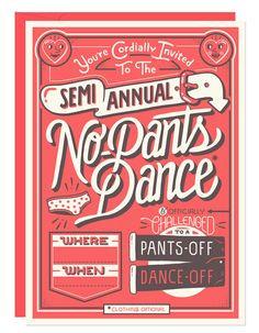 No Pants Dance   Fifty Five Hi's