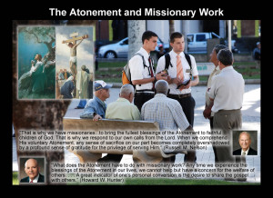 Atonement and Missionary Work Quotes from Hunter and Nelson