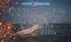 quotes new beginnings beginning a new life quotes quotes new beginning ...